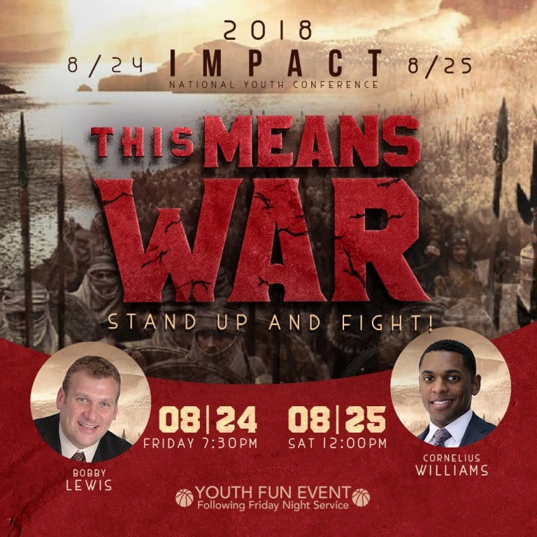 """IMPACT 2018 """"This Means War!"""""""